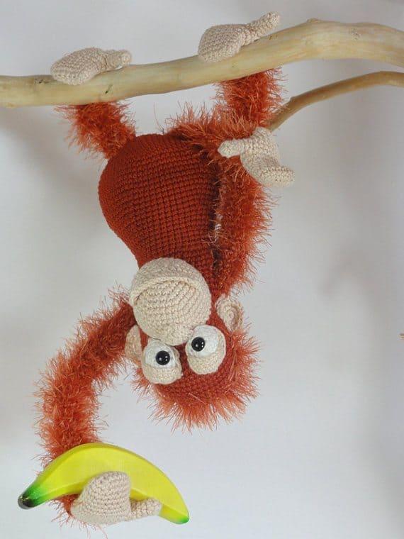 orangutan crochet pattern