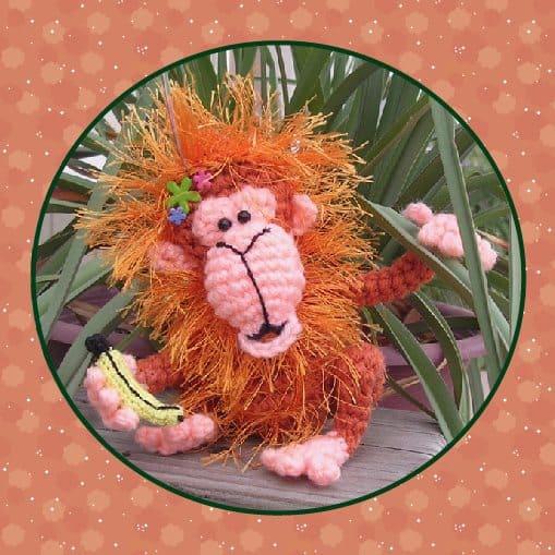 Orwell the orangutan amigurumi pattern by Janine Holmes at Moji ... | 509x509