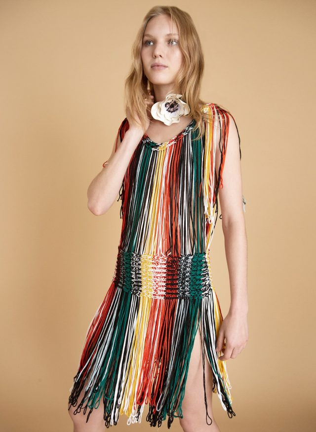 sonia rykiel fringe dress