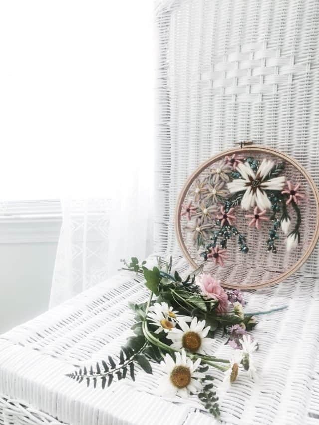 arte floreale all'uncinetto da Andy di O&e Studio
