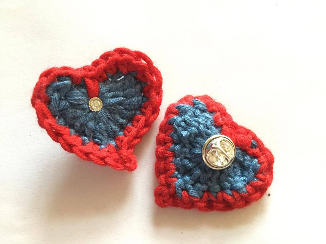 Free crochet heart pattern to raise funds for cancer care free crochet heart pattern to raise funds for cancer care bankloansurffo Images