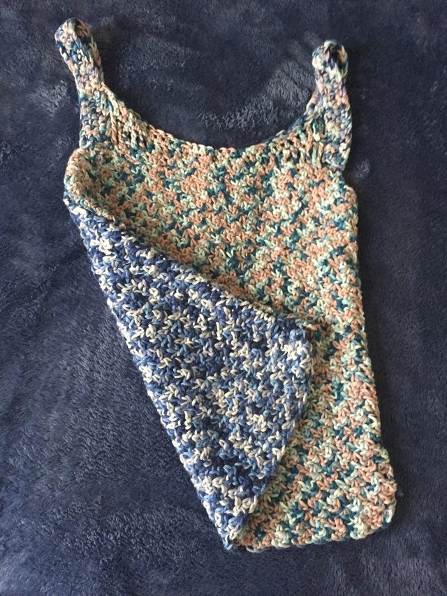 Crochet Wattle Stitch Tank Top And Pretty Cotton Yarn Crochet
