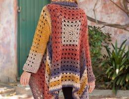 Annie's granny square fall crochet pattern