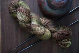 "Superwash Merino – DK – 243 yards – ""Vine"""