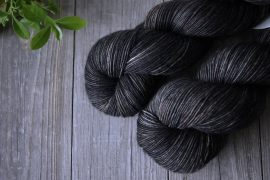 "Superwash Merino – Vingerzetting – 400 werven – ""bazalt"""
