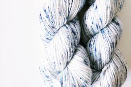 "Wool and Silk – Worsted – 220 yards – ""Storm"""